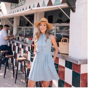 Gal meets glam Quinn blue midi dress 12